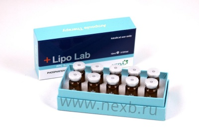 Lipolab (Fat burning injection) от интернет-магазина NEXTB.RU